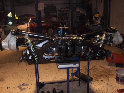 New KWE rear suspension