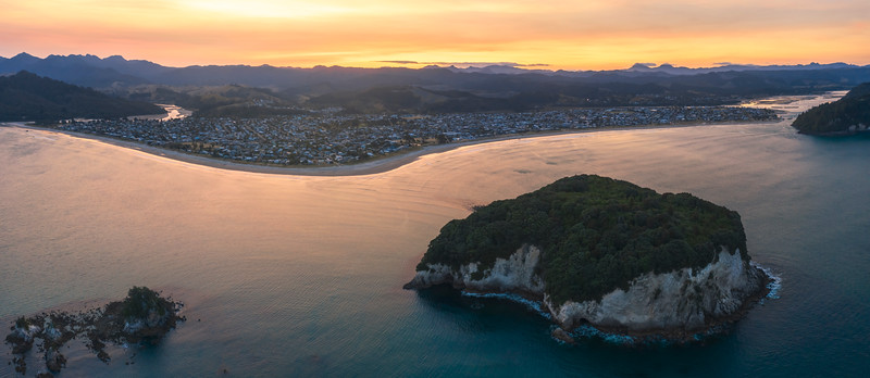 Clark Island Sunset - Panorama