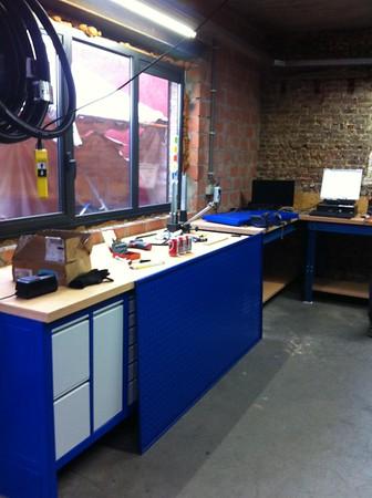 Nieuwe atelier