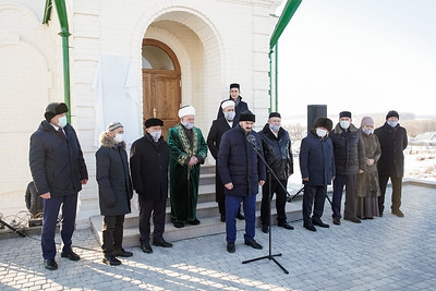 11.12.2020 - Открытие мечети XVIII века после рестоврации Атнинский район (фото Салават Камалетдинов)