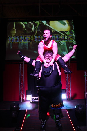 """Xtreme Wrestling Alliance Thursday Night Throwdown March 2, 2017 West Warwick Express vs. Rob """"The Giant"""" & Mike Gamble"""