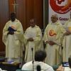 Beginning of the opening Mass