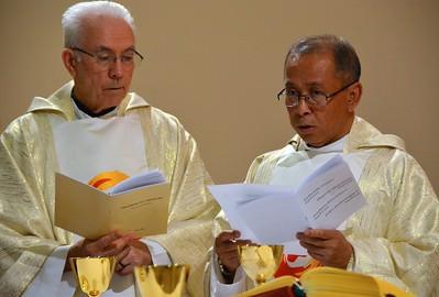 Fr. Claudio and Fr. Sugino