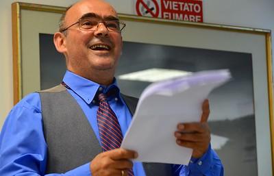 Our master of ceremonies, Jose Carlos