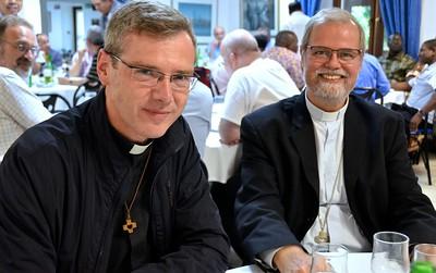 Fr. Heiner and Archbishop Claudio