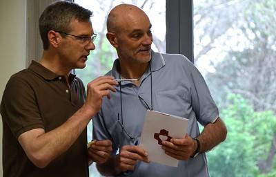 Fr. Heiner and Fr. Oliviero