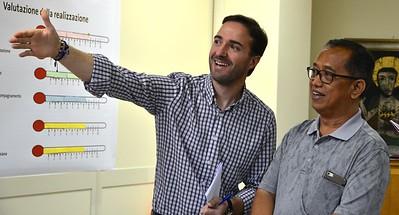 """""""Ecco!"""" Br. Roberto Garcia and Fr. Kusmaryanto"""
