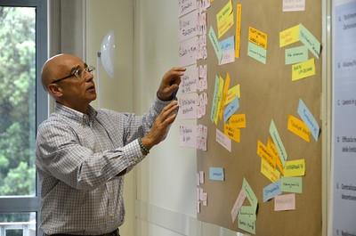 Julio Legido Gonzalez talks about the group-work process