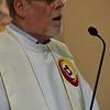 Fr. Wilhelmus proclaims the Gospel