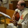 Our faithful guitarist, Fr. João