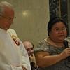 Grace shares a prayer