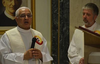 Fr. Ornelas shares a prayer of petition