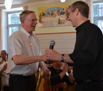 Fr. John and Fr. Heiner