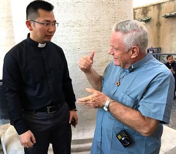 Fr. Rino gives advice?