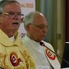Fr. John van den Hengel was the main celebrant and homilist