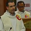 Fr. Ricardo leads the response