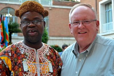 Fr. Kiko and Dn. David