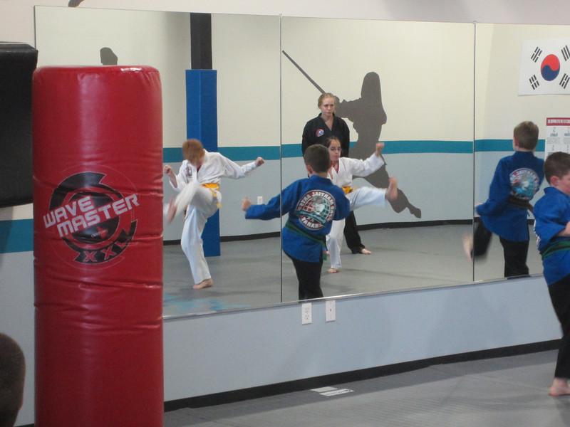 Xander Orange Belt Test