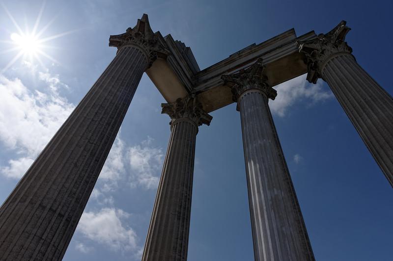 Reconstruction of Roman harbour temple