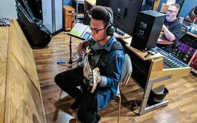 Xavier Bonner Recording Session - 9-30-2017