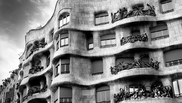 Casa Pedrera, Barcelona, Spain