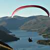 Lakeland views up Ullswater - who says the UK is not  a great place to fly