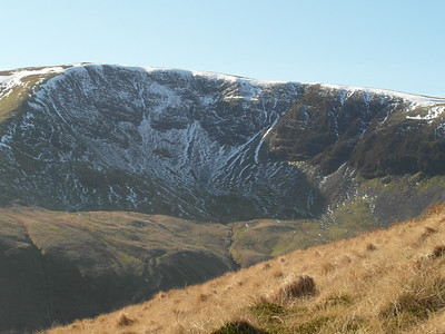 Crags from part way up south face
