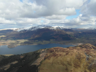 Bassenthwaite and Barf with Skiddaw in background
