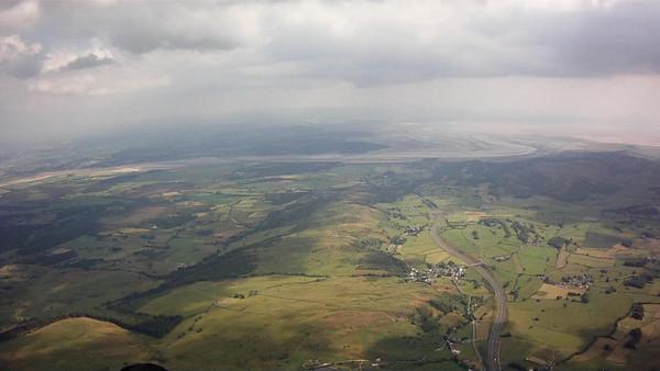 South over Whitestones