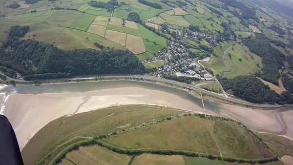 Greenodd and the A595