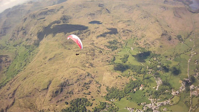 Series of pics of Geoff (from video) just south of Grasmere.