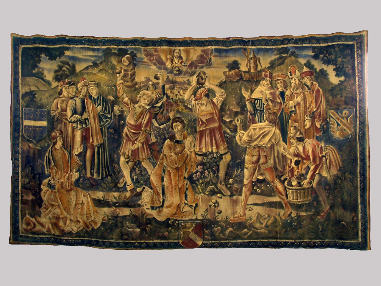 Tapestry to hang in corridor outside the room.