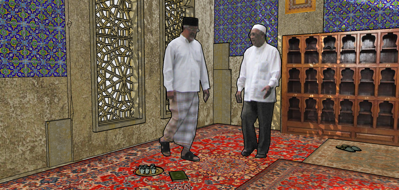 Mosque - studio set.