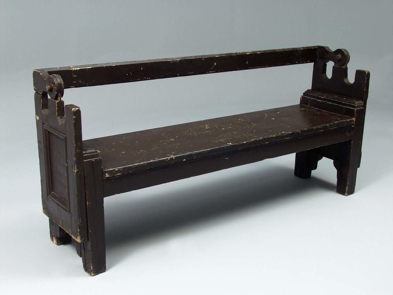 Optional bench dressing.