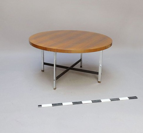low modern table.