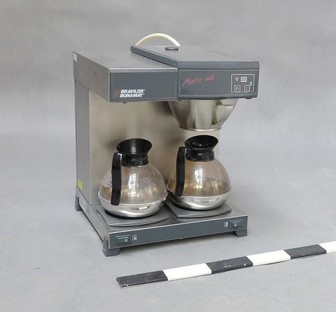 Coffee machine option.