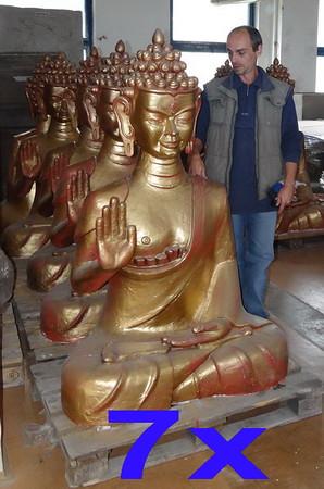 1x hired Bhudda statue.