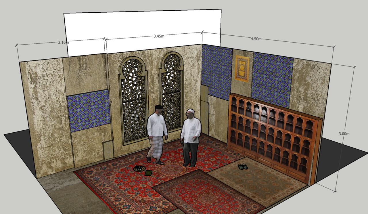 Mosque - studio set.