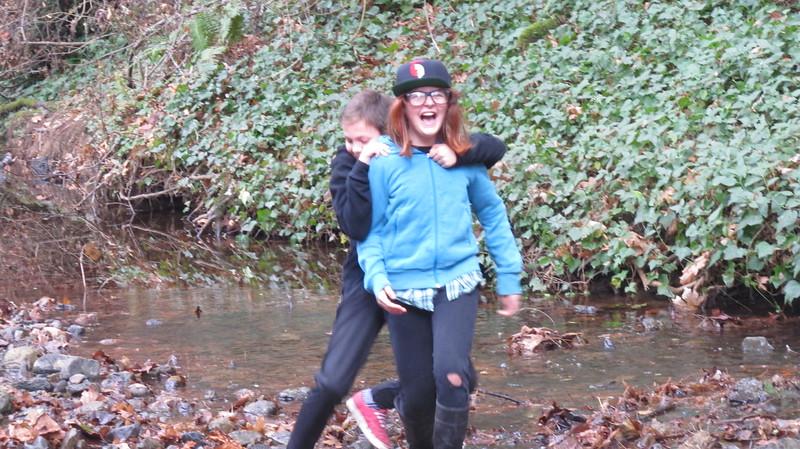 Caysen Eleni creek