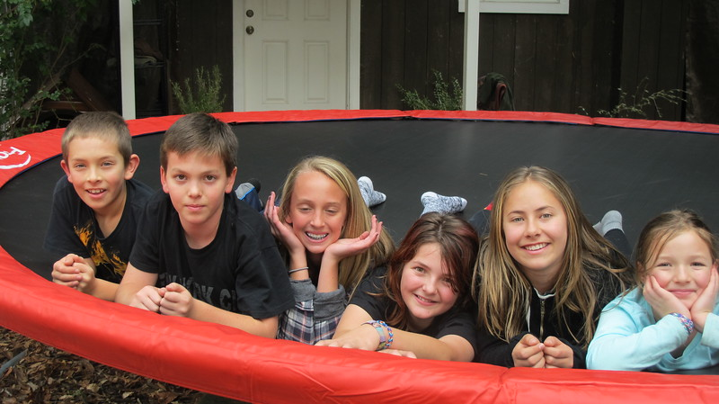trampoline smiles
