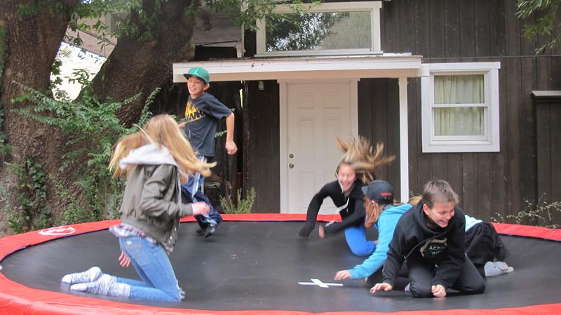 trampoline crazy