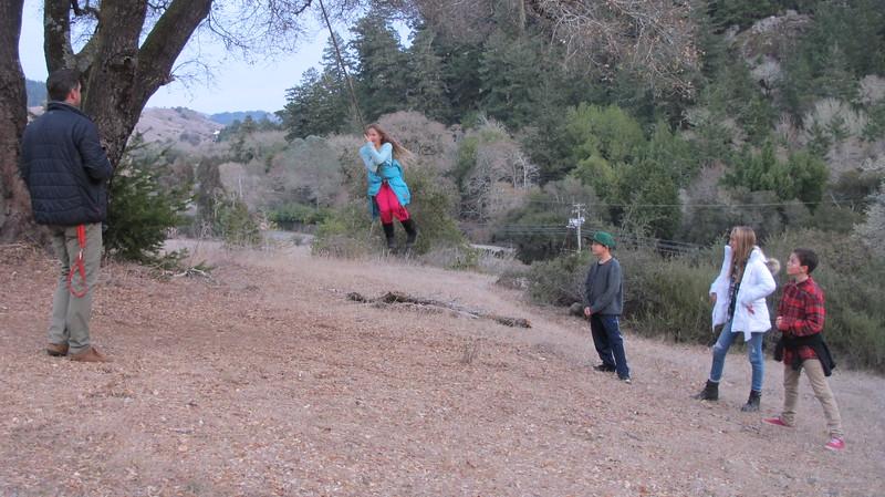 Dani swinging