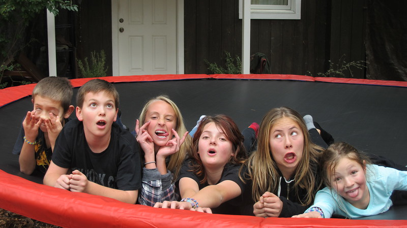 trampoline faces