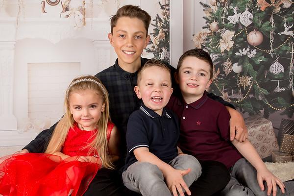 Kai, Esme, Oscar & Logan