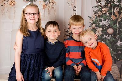Reuben, Zac, Lily & Benedict