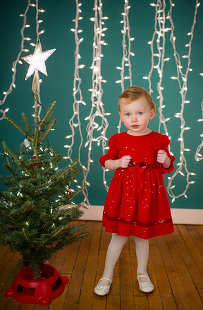 Xmas mini session Evie & Felix