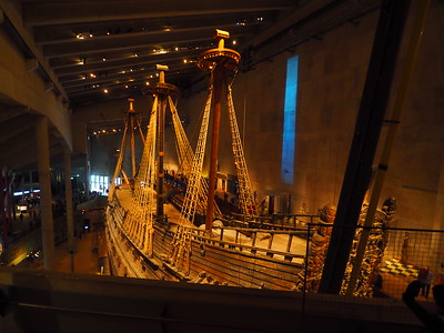 The awesome Vasa Museum, Stockholm