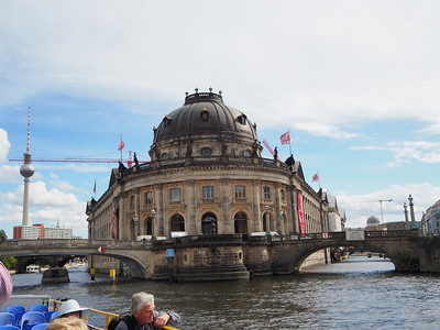 Boat cruise through Berlin