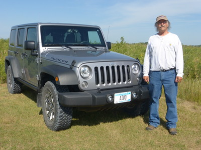 Al and his Jeep
