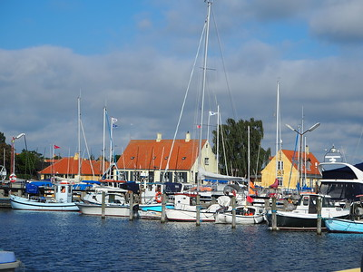 coastal village of Dragor, Denmark
